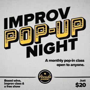 Improv Pop-Up Workshop & Comedy Show