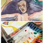 Experimental Watercolor with Kathleen Zimbicki (4 part class)
