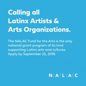 NALAC Fund for the Arts: Call for Applications