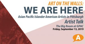 We Are Here Artist Talk