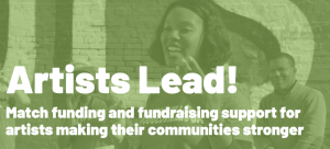 Matching Funds for Community Impact Artists of Any...