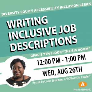 DEAI Lunch & Learn: Writing Inclusive Job Desc...