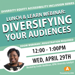 DEAI Webinar: Diversifying Your Audiences