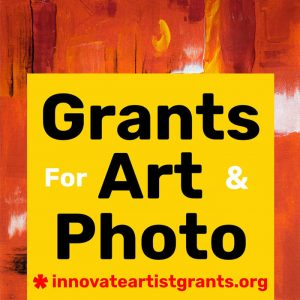 $550.00 Innovate Grants — Call for Artists + Photographers