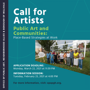 Public Art and Communities: Call for Artists
