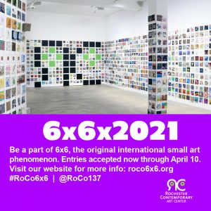 Open Call for Art - 6x6x2021