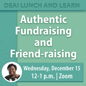 Authentic Fundraising and Friend-raising