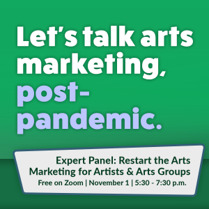 Restart the Arts Marketing for Artists and Arts Gr...